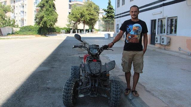 Aydın'da şaka gibi olay: Üç yıl önce çalınan motosikleti sahibine satmaya çalıştılar