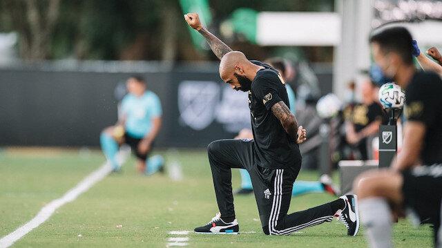 MLS'te Thierry Henry'den 8 dakika 46 saniyelik protesto