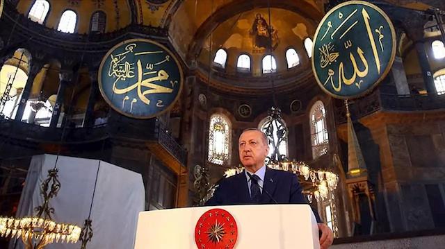 Alman basını Ayasofya kararını böyle gördü: Erdoğan İstanbul'un ikinci Fatih'i