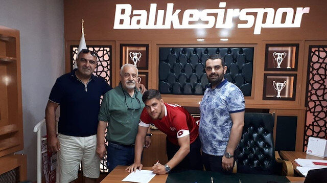 Balıkesirspor Almanya 4. Liginden transfer yaptı
