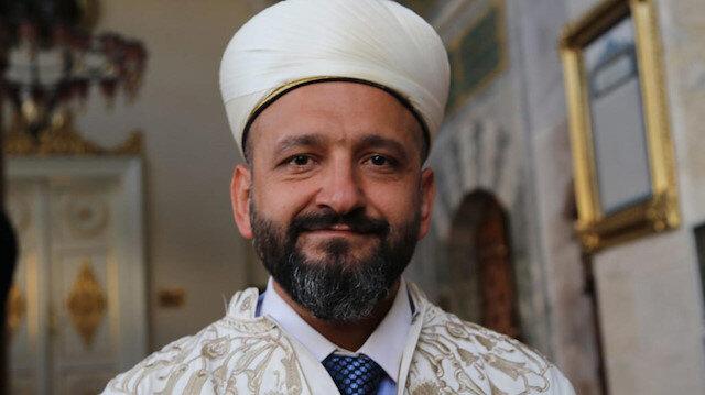 Ayasofya Camii'nin imamı: Heyecandan mikrofonu elimden düşürdüm