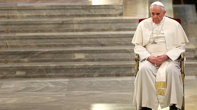 Papa çok üzgün: Ayasofya'nın cami olmasından derin acı duyuyormuş