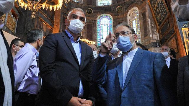 Diyanetten Ayasofya açıklaması: İki imam dört müezzin olacak