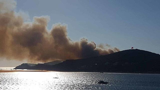 Heybeliada'da orman yangını: Üç kişi gözaltına alındı