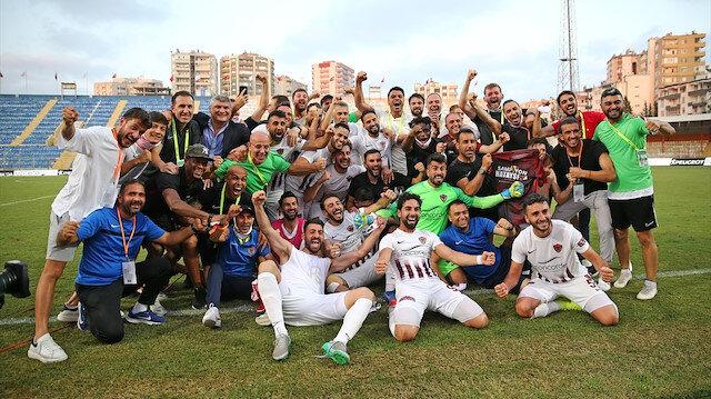 Hatayspor Süper Lig'e yükseldi
