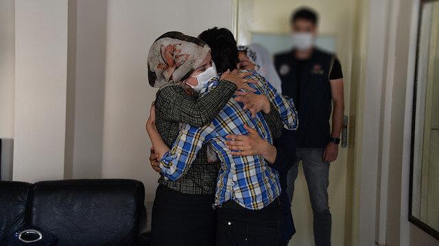 PKK'da çözülmeler devam ediyor: Teslim olup ailesiyle buluşturulan terörist örgüte katıldığı için çok pişman