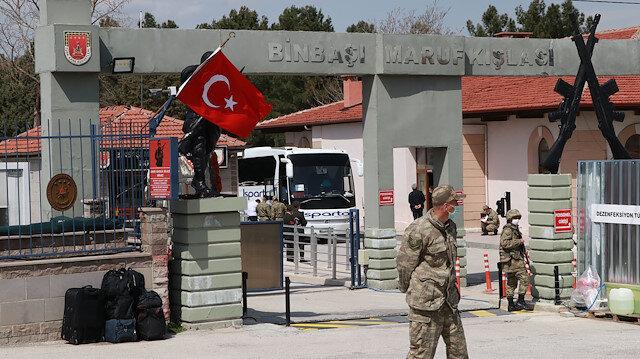 Burdur'da koronavirüs paniği: Testi pozitif çıkan askerler tedaviye alındı