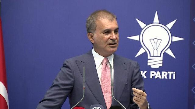 Ömer Çelik'ten Ayasofya Camii açıklaması: Türkiye içinden yapılan eleştirileri yakışıksız buluyorum