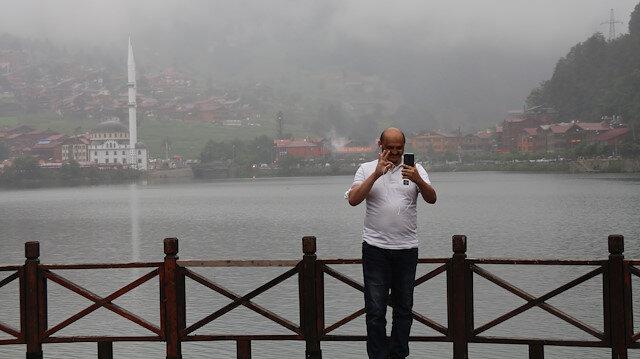 Trabzon Uzungöl'de yerli turistle sakin günler: Önceki sezonları arıyoruz