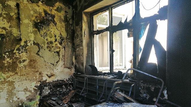 Çanakkale'de yangın evi küle çevirdi: 2 yaralı