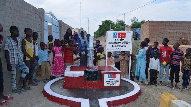 Afrika'da açılan su kuyularına 15 Temmuz'da şehit olan kahramanların isimleri verildi