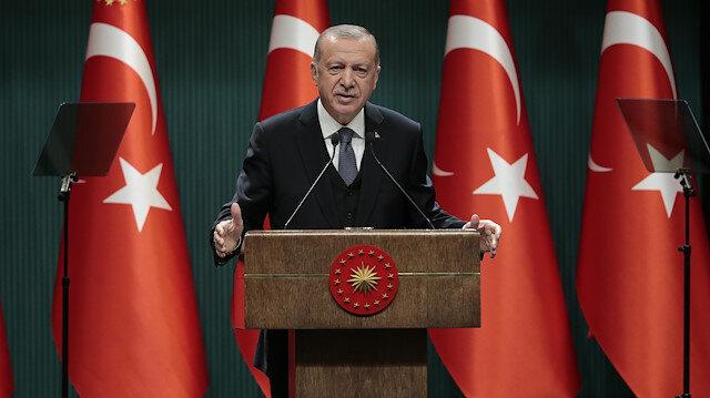 Cumhurbaşkanı Erdoğan: Biz milletimizle beraber yürüdük, 15 Temmuz gecesi darbeyi ve darbecileri bitirdik