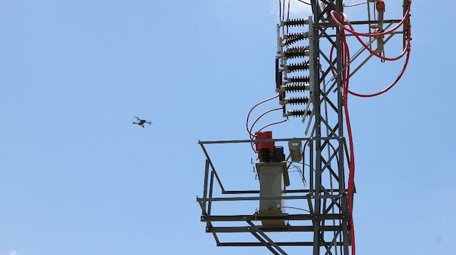 Birçok teknisyeni zorlayan bakım çalışmasında yeni yöntem drone kullanmak