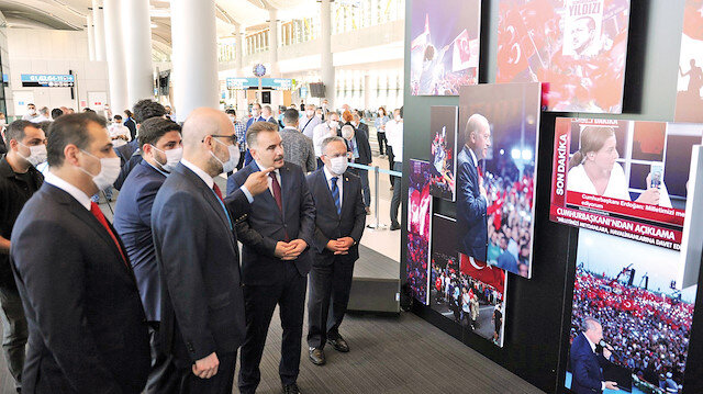 15 Temmuz'un hatıraları İstanbul Havalimanı'nda