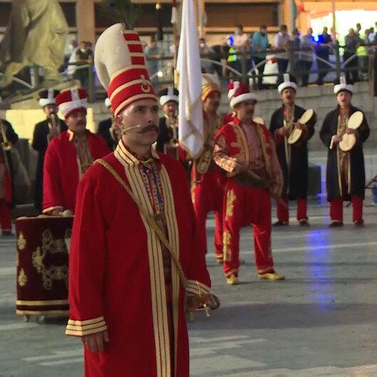 Jandarma Mehteran Birliği 15 Temmuza özel konser düzenledi