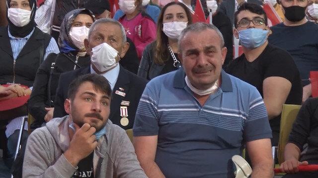 15 Temmuz Gazisi o görüntüleri izleyince gözyaşlarına boğuldu: Hiç gözümü kırpmaz yarım kalan işi tamamlardım