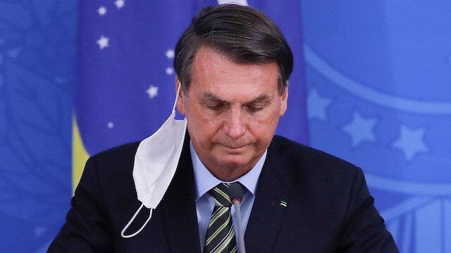 Brezilya lideri Bolsonaro'nun ikinci koronavirüs testi de pozitif çıktı