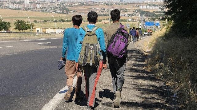 Afganların umut yolculuğu film gibi bitti