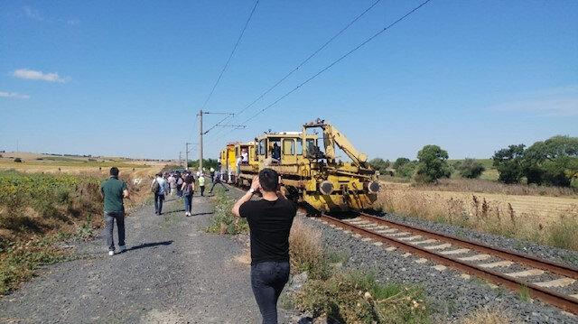25 kişinin hayatını kaybettiği Çorlu tren kazasının yaşandığı yerde bilirkişi heyeti inceleme yaptı