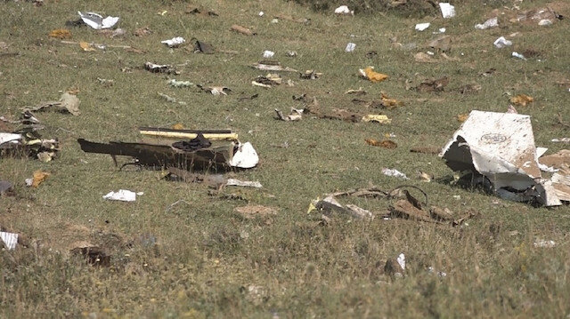 Yedi polis şehit düşmüştü: Uçağın kara kutusu bulundu