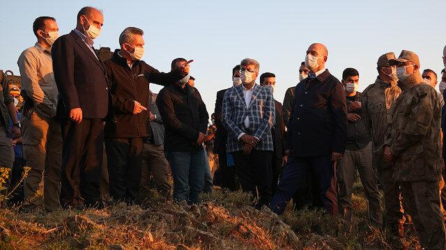 Van'da 7 Emniyet mensubumuzu şehit verdiğimiz kazaya ait ilk fotoğraflar