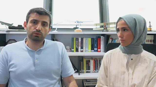 Sümeyye ve Selçuk Bayraktar 15 Temmuz gecesi yaşadıklarını anlattı: Devamlı dualar ede ede bekledik