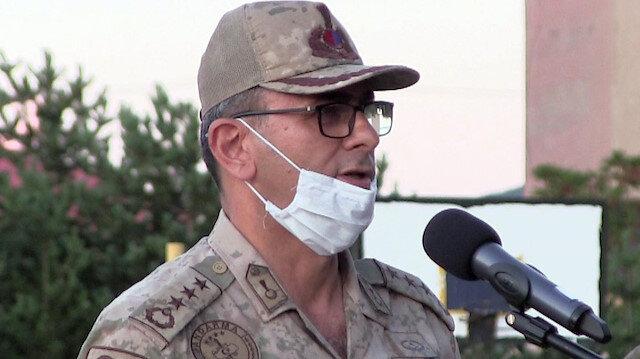 Erzurum İl Jandarma Komutanı Albay Ali Gemalmaz operasyonun detaylarını anlattı: Şemsiye açtıklarını görünce ateş emrini verdim
