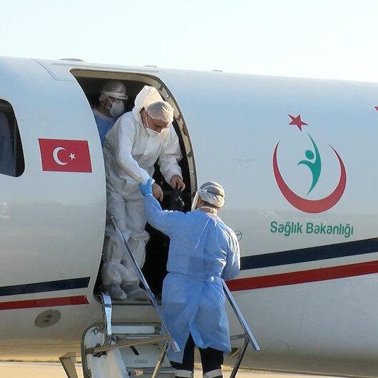 Kırgızistanda koronavirüse yakalanan 4 Türk İstanbula getirildi