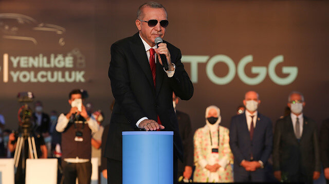 Cumhurbaşkanı Erdoğan yerli otomobil fabrikası TOGG'un temelini attı: Yerli otomobil 2022'nin son çeyreğinde yollarda olacak