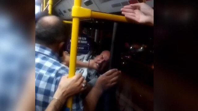 Ankara'da otobüste yer vermeme kavgası: İki yolcu birbirine girdi