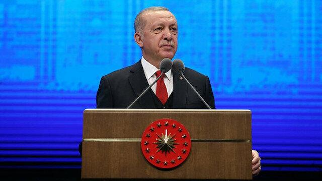 Cumhurbaşkanı Erdoğan gerçek rakamı açıkladı