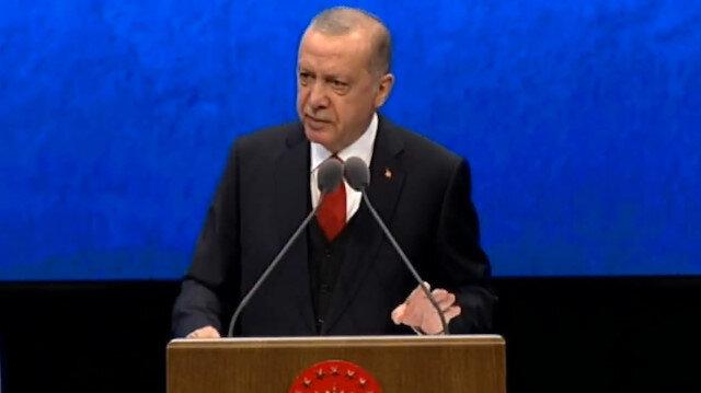 Cumhurbaşkanı Erdoğan: Savunma sanayiinde ülkemizin dışa bağımlılığını yüzde 70lerden yüzde 30lara düşürdük