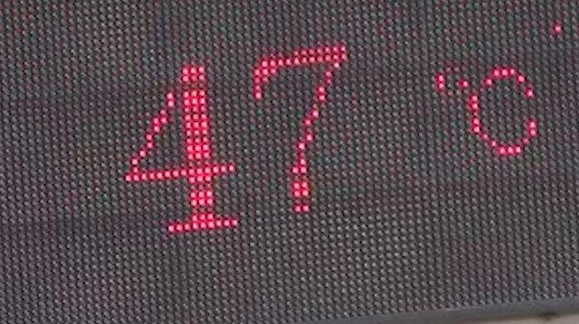 Diyarbakır'da termometreler 47 dereceyi gösterdi, hayat durma noktasına geldi