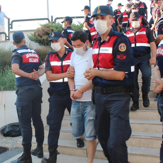 Pınar Gültekinin katili adliyeye sevk edildi
