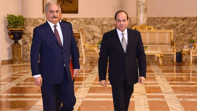 Mısır'dan tehlikeli adım: Libya'ya askeri müdahale yetkisi verdiler!