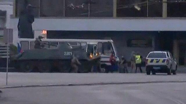 Ukrayna'da yolcuları rehin alan saldırgan yakalandı