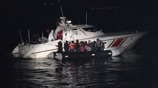 Yunanistan'ın ölüme terk ettiği 31 göçmeni Türk Sahil Güvenlik ekipleri kurtardı