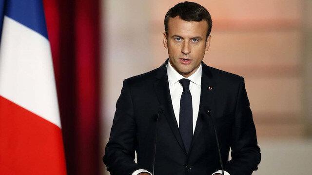 Macron haddini aştı: Türkiye'ye karşı harekete geçmesi için AB'ye çağrı yaptı
