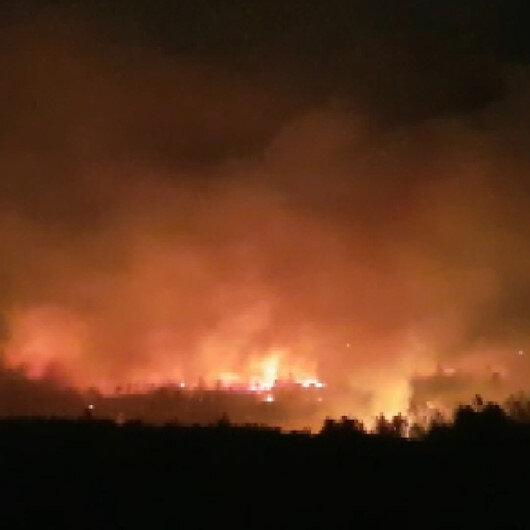 Manavgatta orman yangını: Çok sayıda ekip sevk edildi