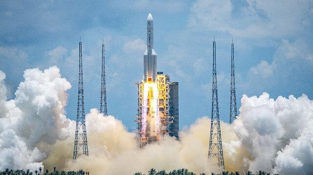 Çin'in hedefi Kızıl Gezegen: 7 aylık yolculuk başladı