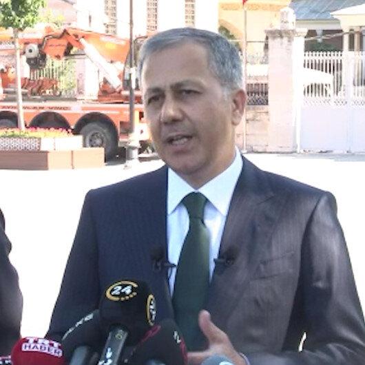Vali Yerlikaya, Ayasofya Camiinin açılışı için trafiğe kapatılacak yolları açıkladı