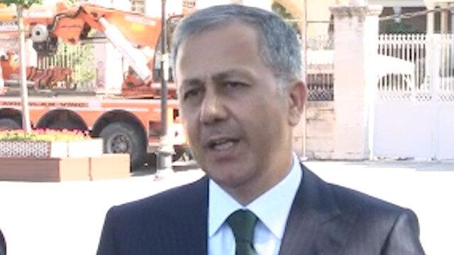 Vali Yerlikaya, Ayasofya Camii'nin açılışı için trafiğe kapatılacak yolları açıkladı