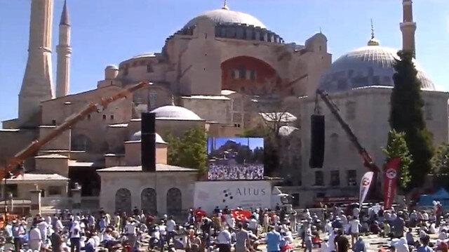 Ayasofya Camiinde Kuran-ı Kerim tilaveti başladı