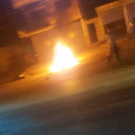 Resulaynda bomba yüklü motosiklet patladı: 2 yaralı