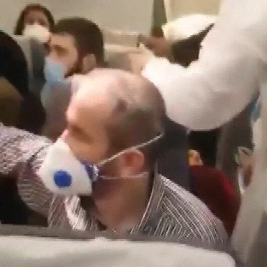 İran yolcu uçağı ABDye ait savaş uçağı tarafından taciz edildi