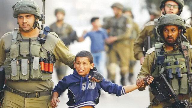 İşgalci gücün hedefi çocuklar: İsrail güçleri, çeşitli iddialarla Filistinli çocukları gözaltına alıyor
