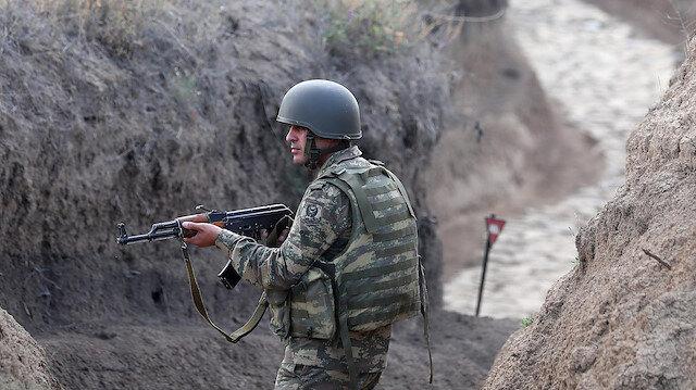 Gözler Ermenistan tarafında: Azerbaycan Ordusu'nun sınır hattındaki mevzileri görüntülendi