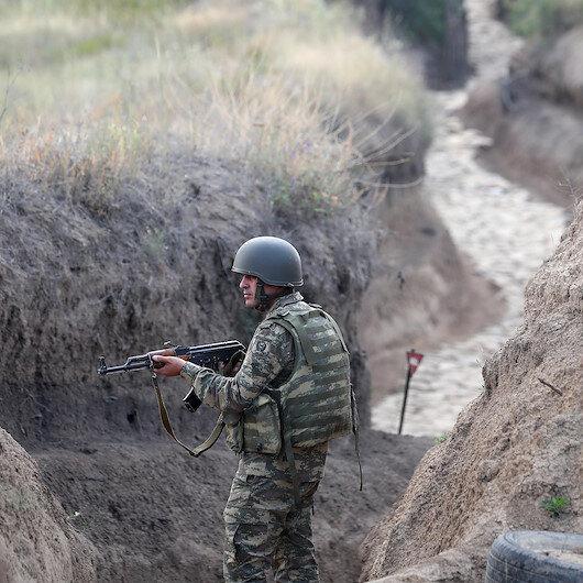 Gözler Ermenistan tarafında: Azerbaycan Ordusunun sınır hattındaki mevzileri görüntülendi
