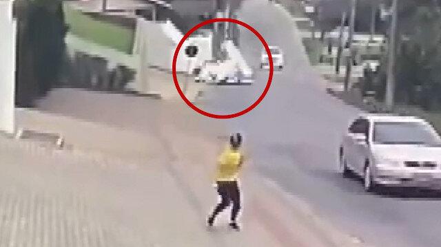 Brezilya'da yere çakılan uçaktan pilot ve yolcu sağ kurtuldu