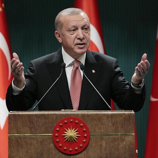 Cumhurbaşkanı Erdoğan: Yedi düvele karşı vatan müdafaası yapıyoruz